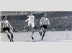 On a day like today Puskas made his debut Real Madrid CF