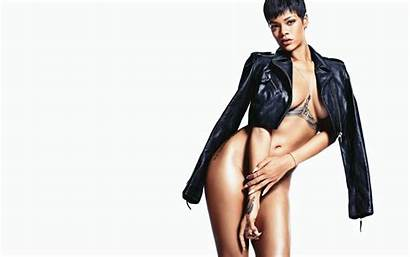 Rihanna Wallpapers Shoot Zoomgirls Leather Almost Erotic