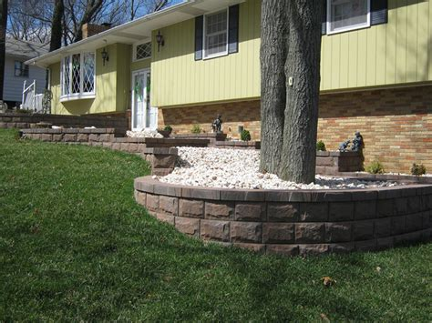 landscaping block walls ideas front yard landscaping ideas contemporary landscape minneapolis by allan block retaining
