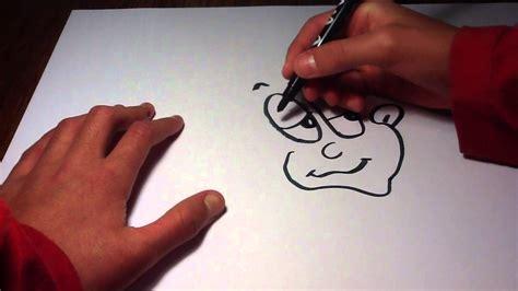 faire un visage facon astuce de dessin