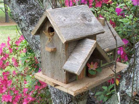decorative  handmade wooden bird houses style