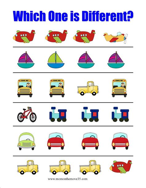 Transportation Activities For Preschoolers  Mom On The Move