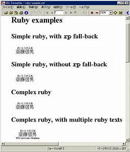 implementing the ruby module With xsl stylesheet template