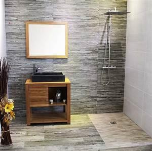 mercier carrelages carrelages et revetement sol et mur With carrelage salle de bain imitation pierre