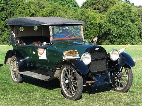 1918 Chevrolet D5 V8 Touring 1  The First Year Of The