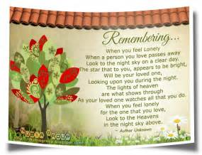 Quotes About Remembering Loved Ones