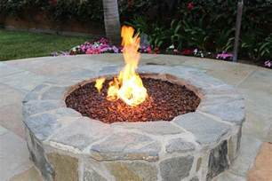 Outdoor Fire Pit Glass