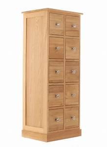 Mobel Oak DVDCD Storage Chest Living Room Furniture
