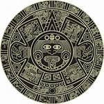 Aztec Calendar Clipart Mexican Symbols Clip Maya