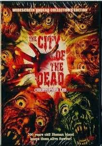 Film Vs Digital The City Of The Dead Blu Ray Christopher Lee
