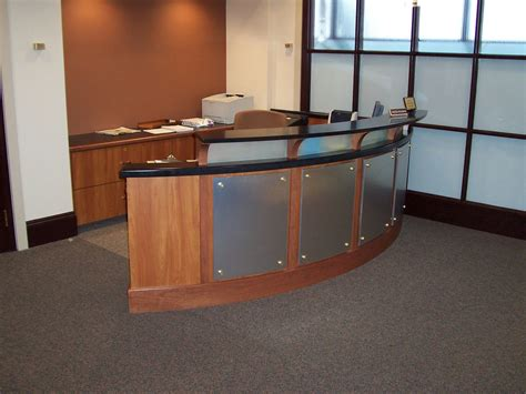 custom reception desk custom made accounting reception desk by mica shop