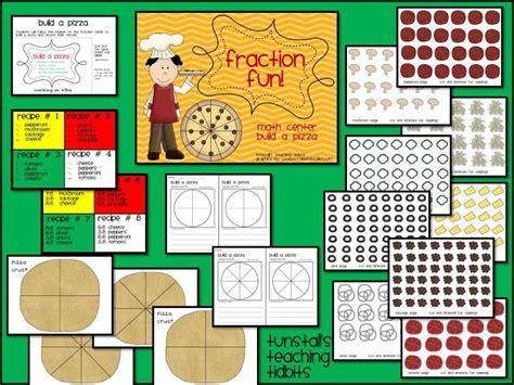 Build A Pizza Math Center!  Tunstall's Teaching Tidbits