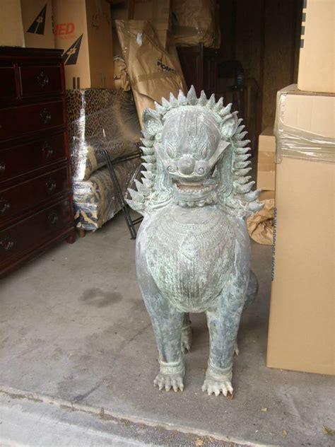 bronze thai singha statues cravemodern