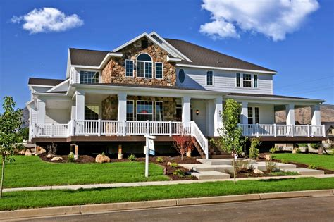 home with wrap around porch best two house plans wrap around porch blw