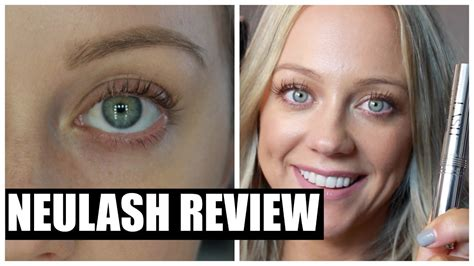 How I Grew My Lashes  Neulash Review  Before And After