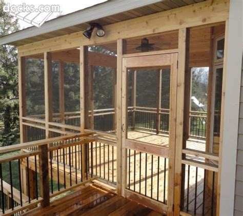Screen Porch Material by Screen Porches Deck Picture Gallery Porches Decks In