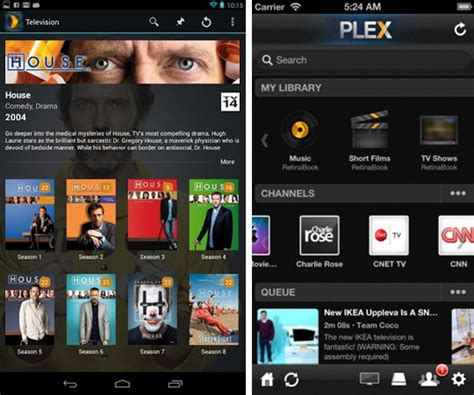 plex for android free plex releases 3 0 overhaul for android 3 2 update for ios