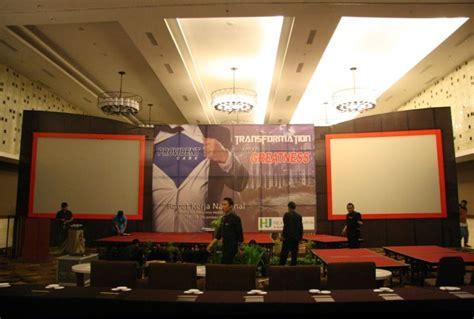 dekorasi panggung hiburan jogja dekorasi event  yogyakarta