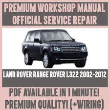 car repair manuals download 2009 land rover range rover sport lane departure warning range rover workshop manuals 2009 car service repair manuals for sale ebay