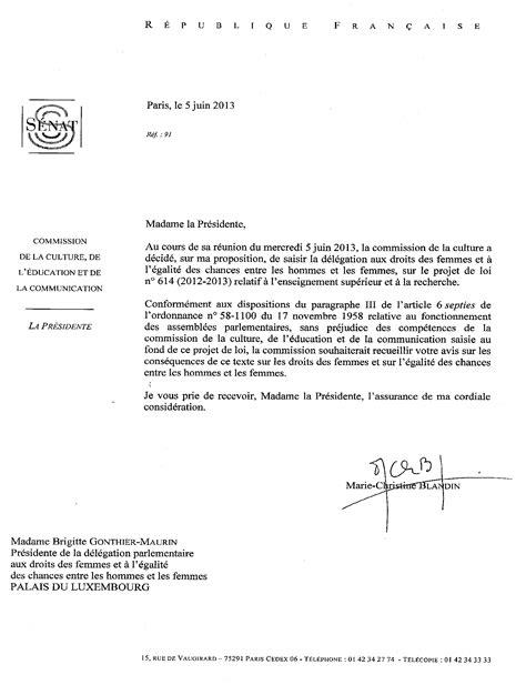 modèle lettre saisine comité médical projet de loi relatif 224 l enseignement sup 233 rieur et 224 la