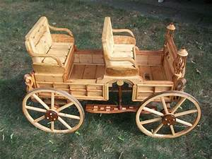 model horse carriage magazine rack/ flower planter - by
