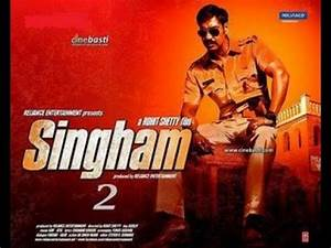Ajay Devgan's Singham Returns First Look Poster - YouTube