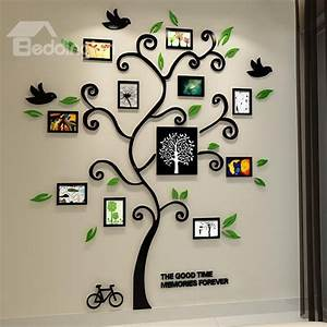 11 Photo Frame Tree Country-style Acrylic Waterproof Self