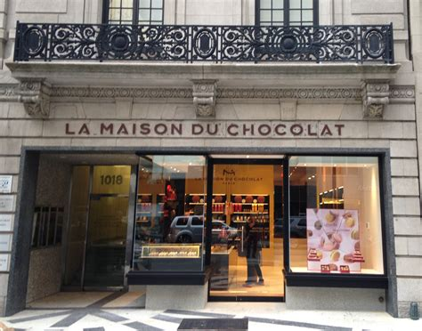 maison du chocolat chocolate boutique on avenue new york la maison du chocolat
