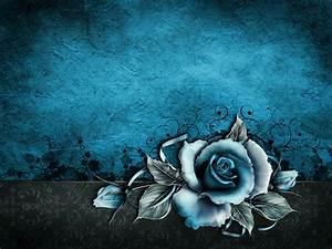 vintage grunge paper wallpaper blue floral texture