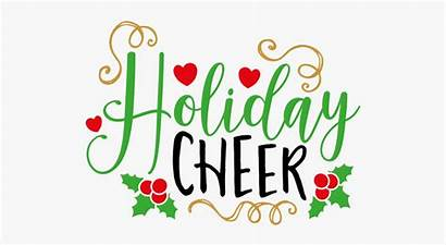 Cheer Holiday Clipart Clipartkey Transparent