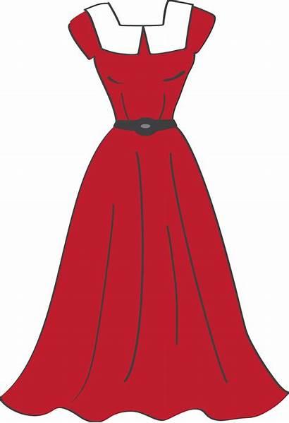 Clipart Clip Clothes Dresses Cartoon Sewing Ropa