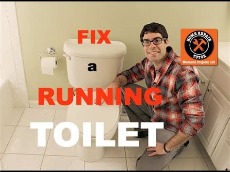 fix  toilet   running  home repair tutor