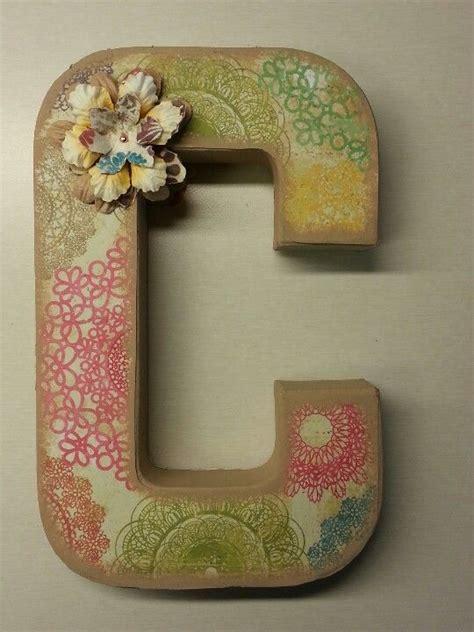 images  paper mache letters  pinterest