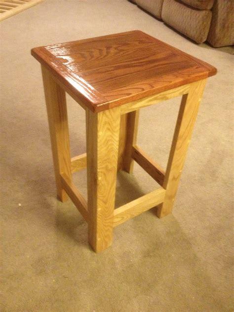 ana white pub table height stool modern design diy