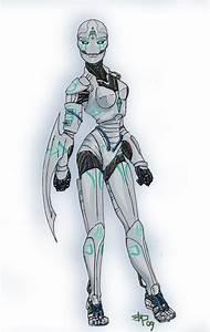 Cyborg Doppelganger Full Color by El-ofAllTrades on DeviantArt