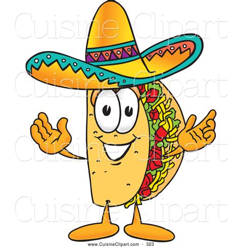 mascot clipart royalty free mexican food stock cuisine designs