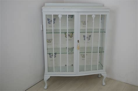 shabby chic display cabinet vintage shabby chic display cabinet painted vintage antique farmhouse furniture