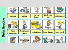 FRANC'S CORNER 3rd GRADE DAILY ROUTINES