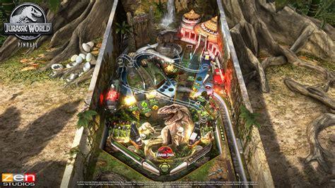 zen studios welcomes pinball players  jurassic world