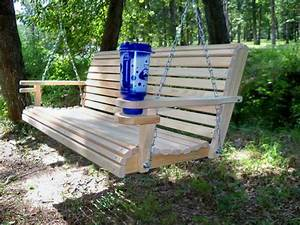 La Cypress 4 Foot Diamond Back Porch Swing  U2013 Magnolia