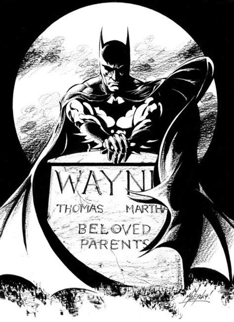 Batman grave by Matt Haley | Batman | Batman, Batman art, Batman universe