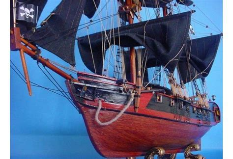 Caribbean Pirate Ship Model for Decoration