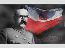 Józef Piłsudski, Flaga, Polska