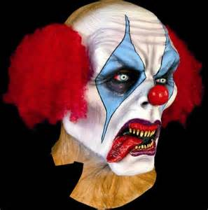 Halloween Clown Masks