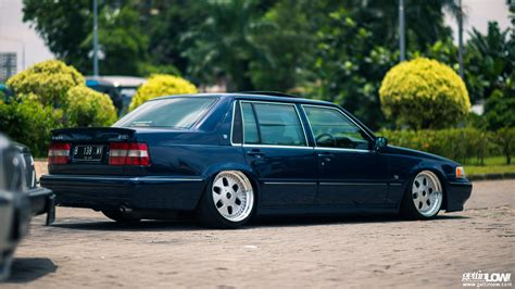 Modifikasi Volvo S90 by Gettinlow Andy 1995 Bagged Volvo S90