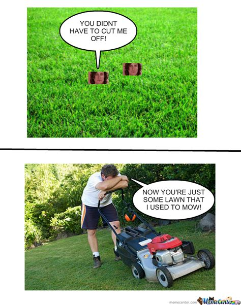 Grass Memes - some lawn that i used to mow by bobthememer meme center