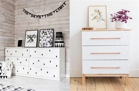 Customiser Commode Ikea by Transformer Un Meuble Ikea La Commode Malm Clem Around