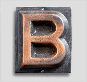 the vintage walltm small embossed brass door sign letter With small letter sign
