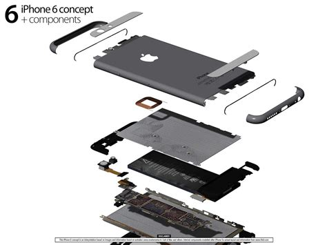 iphone 6 parts this is the iphone 6 in all its cult of mac