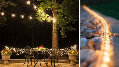 outdoor lighting ideas   shabby chic garden number